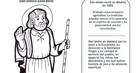 El Rincón de las Melli: San Isidro Labrador (historia con juego)