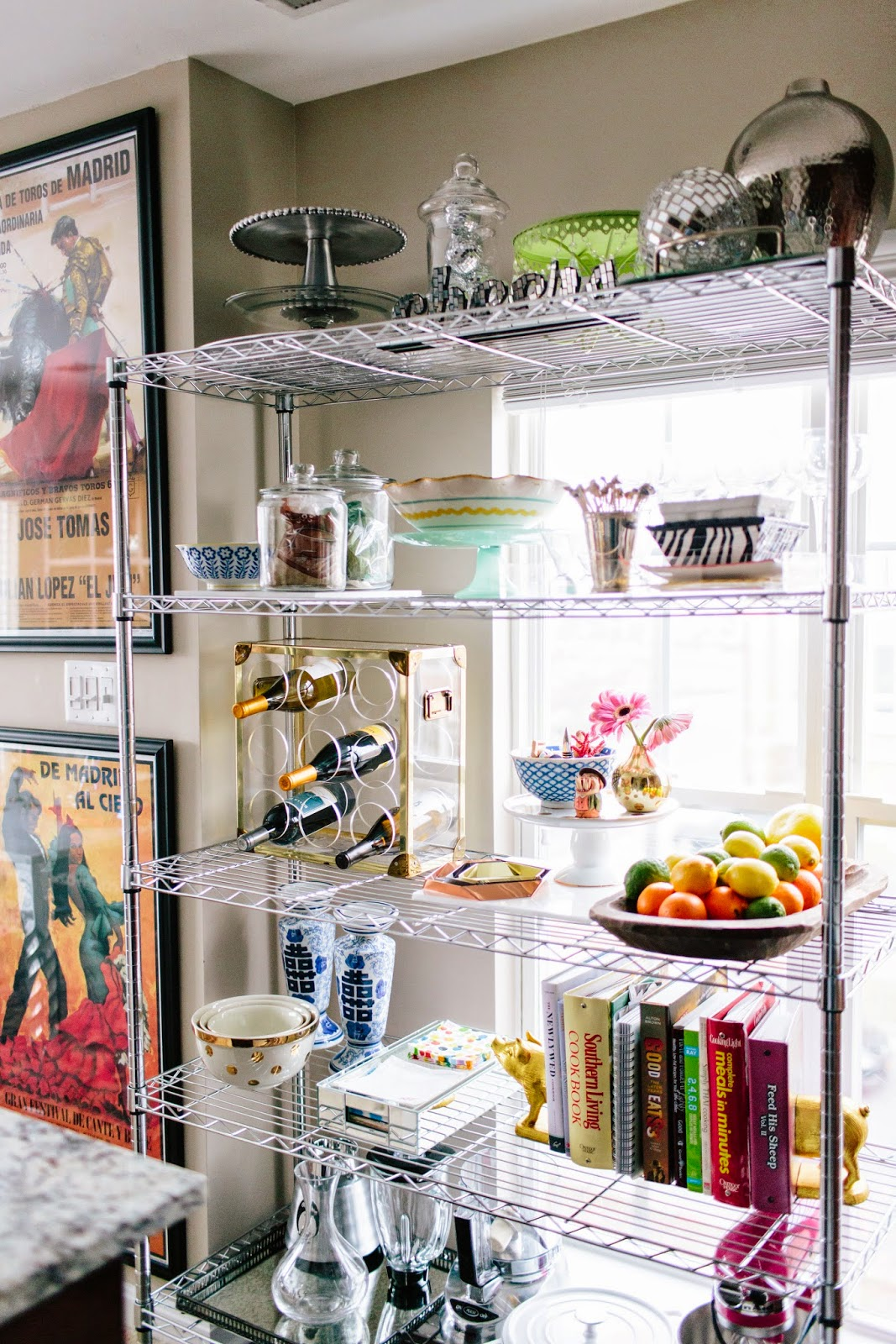 Delicieux Styling Wire Shelves In The Kitchen
