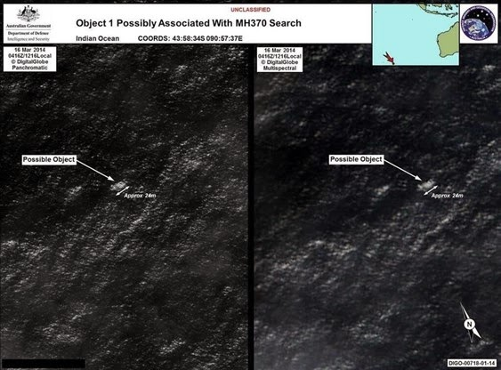 Missing Plane of Malaysian Boeing found