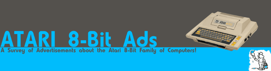 ATARI 8-bit Ads
