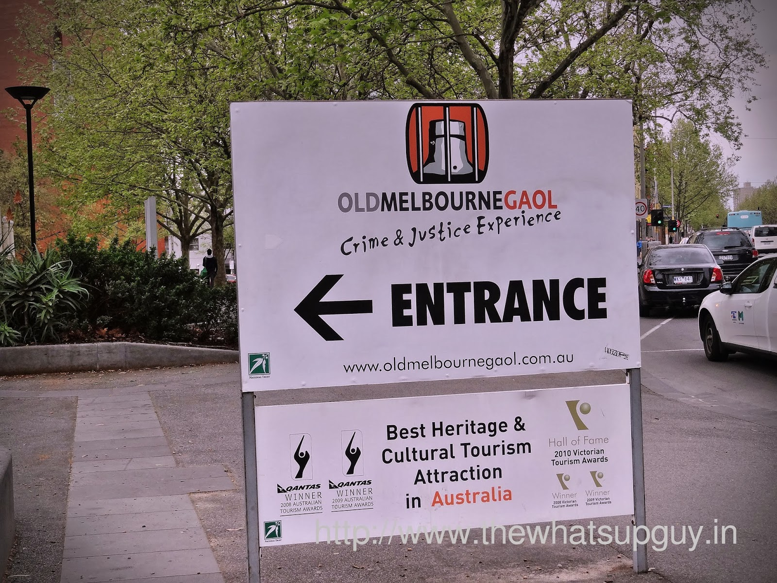 Old Melbourne Gaol Entrance