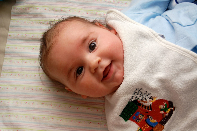 smiling baby photos