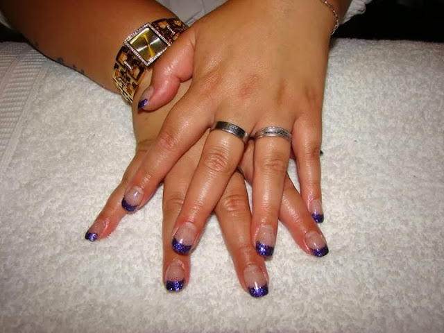 acrylic backfill gold haze over a purple custom glitz gel metallic royal purple glitz gel nails acrylic nail art design- Gel-Nails-Polish-LED-Polish-LED-Nails-Acrylic-Nails-Nail-Art