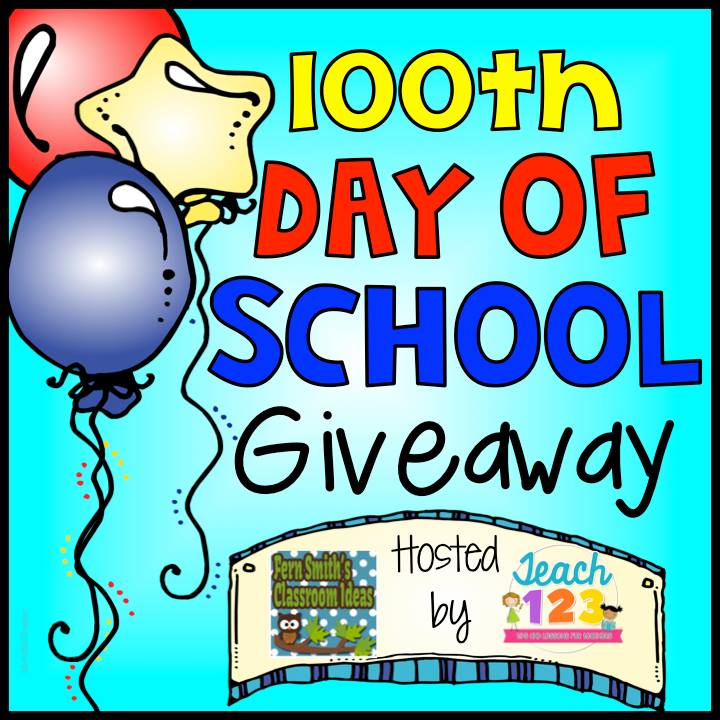 100th Day of School 2015 100th Day of School Giveaway