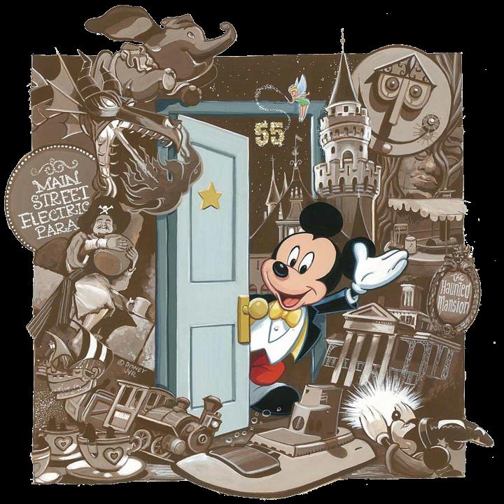 Mickey mouse y sus mundos