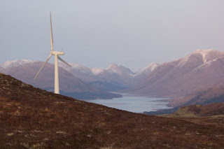 wind farm in Argyll and Bute