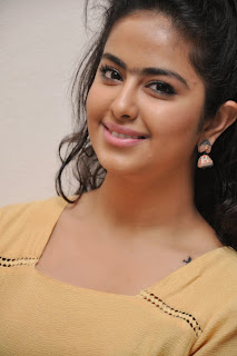 Avika Guar looks Glamorous young and dashing at Cinema Chupista Mava First Look Launch
