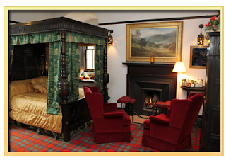 castle stuart, haunted room, ghost sighting