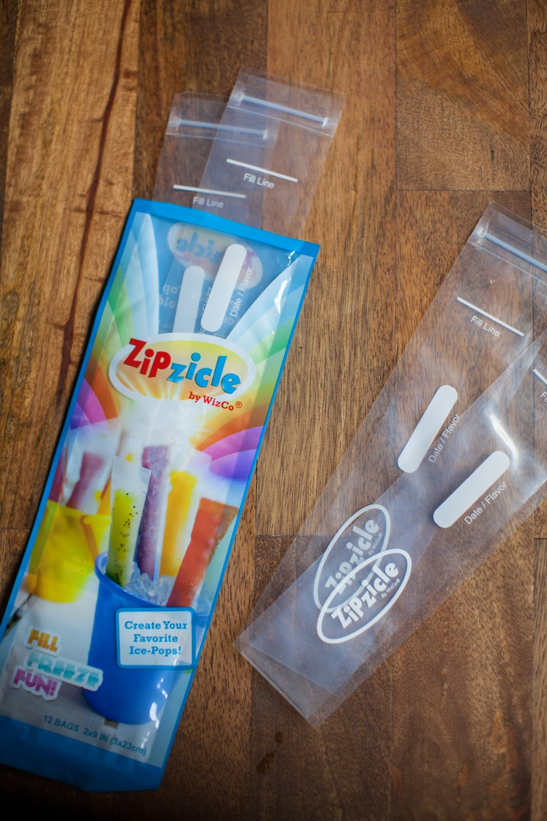 Zipzicle Ice-Pop Pouches