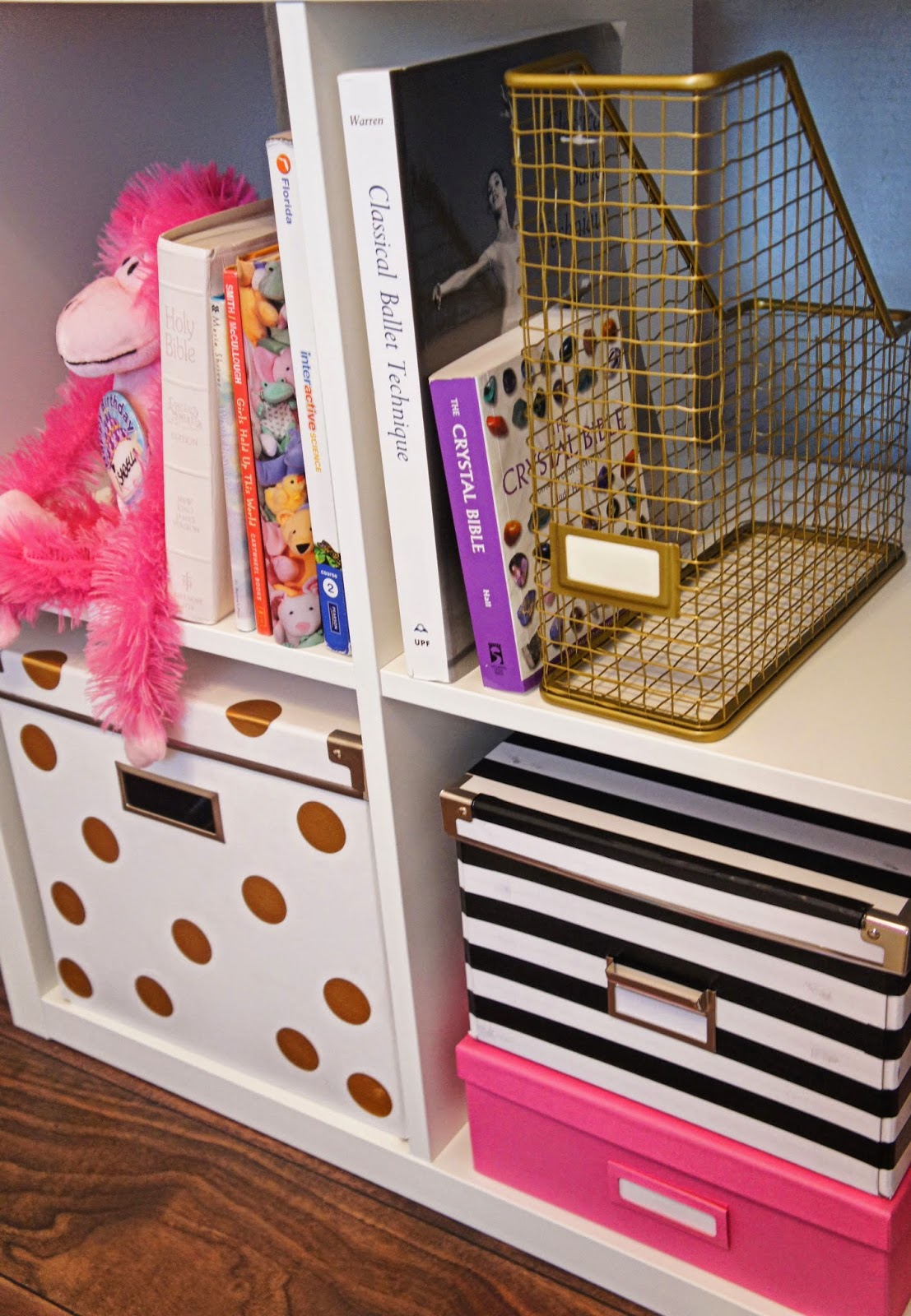 Exceptionnel Here Are A Couple Detailed Shots For You Of The DIY Kate Spade Inspired  (easy As Heck) Storage Boxes.