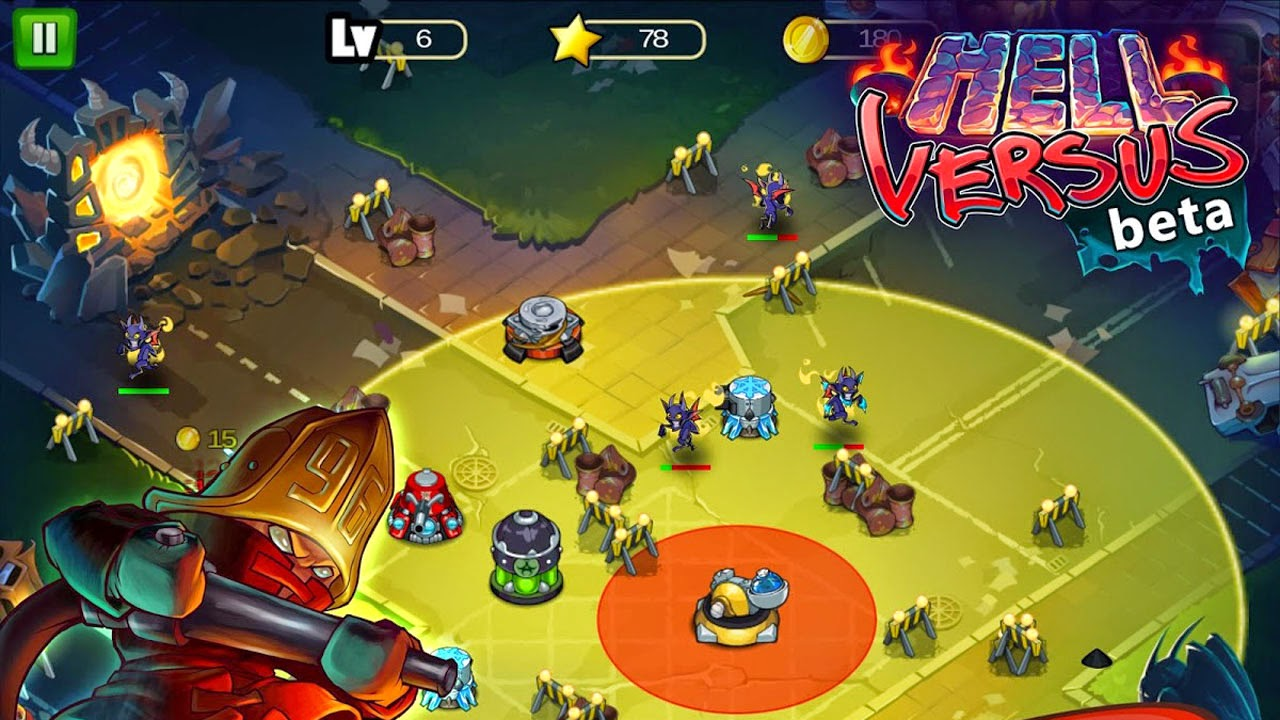 Hell Versus Gameplay IOS / Android