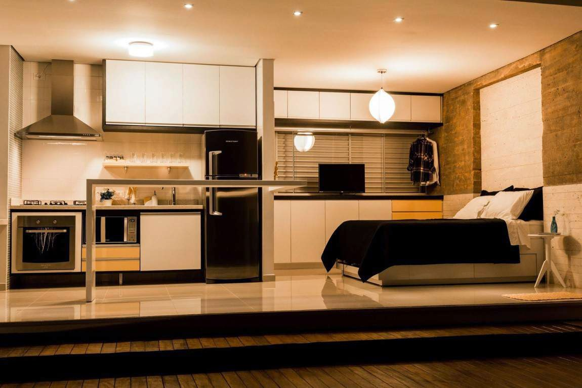 small house ideas - small kitchen - small bedroom 1220