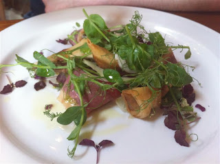 Stitch and Bear - Smoked duck salad at Brabazon in Tankardstown