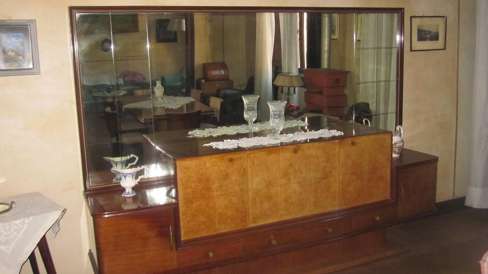 Mobili Anni 40 : Mobili anni specchiera e mobile da salone