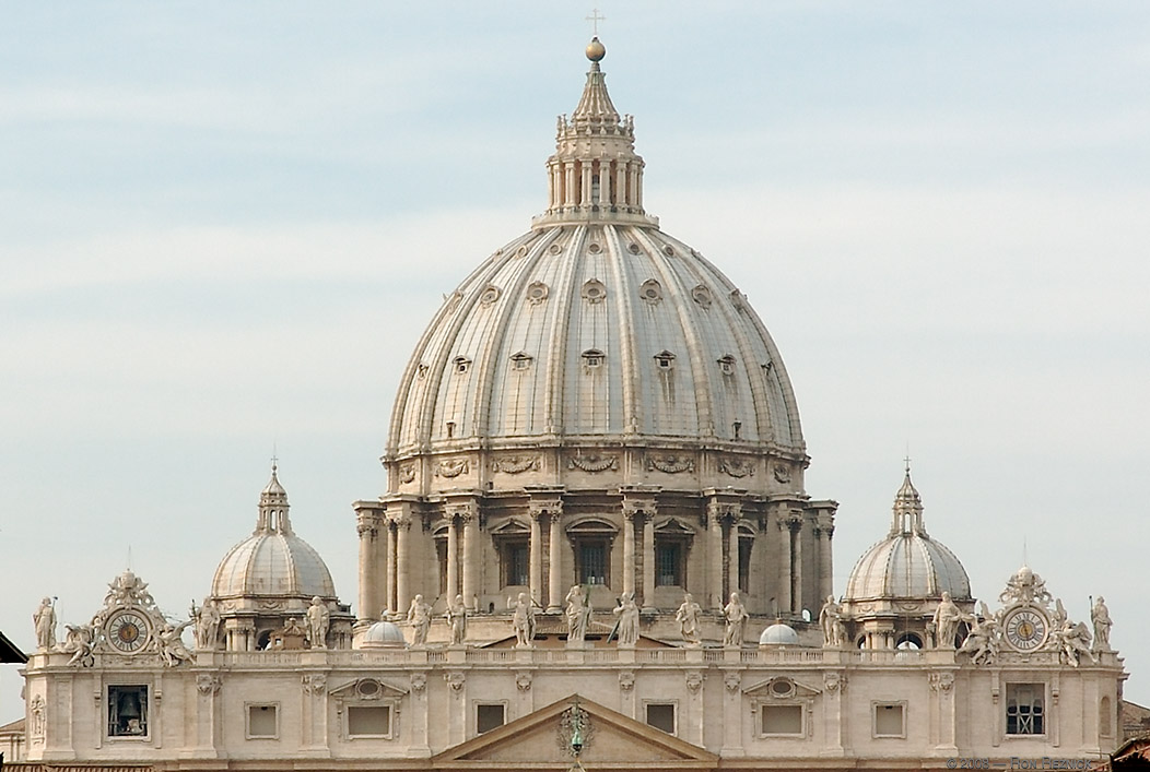 World wondering preview st peter s basilica