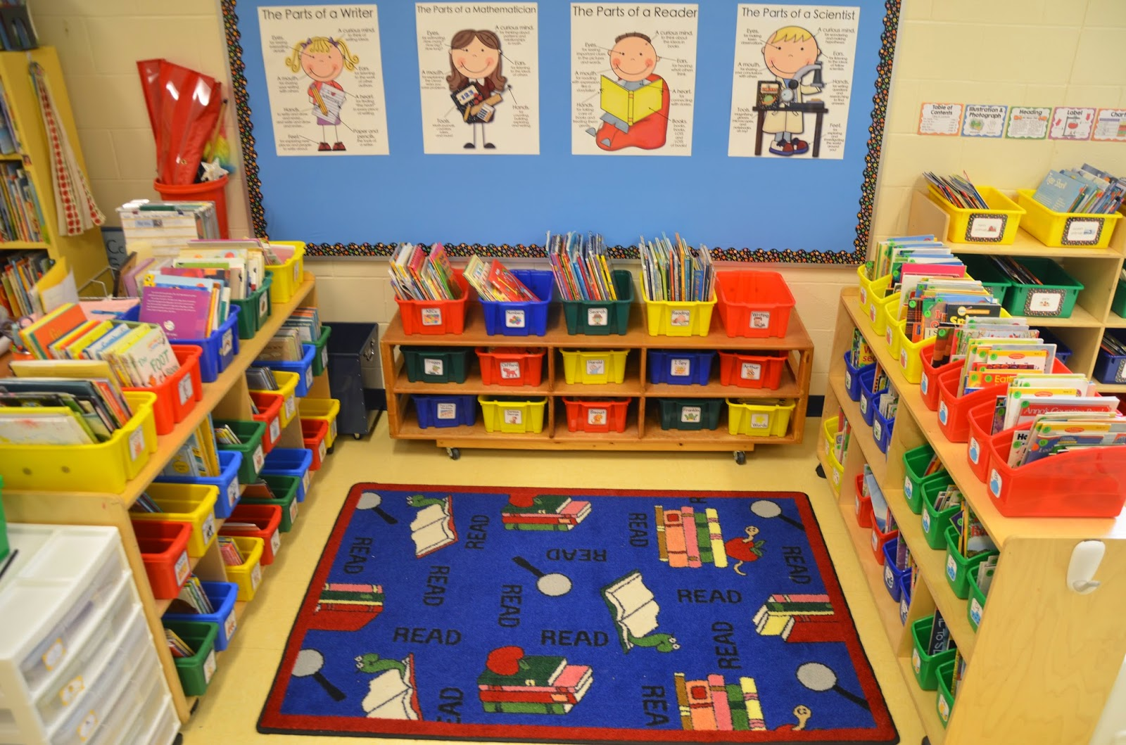 Classroom Book Ideas ~ A place called kindergarten classroom tour