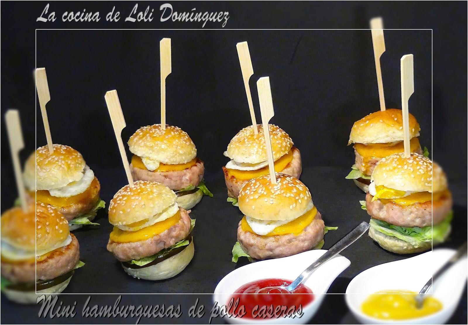 la cocina de loli dom nguez mini hamburguesas de pollo
