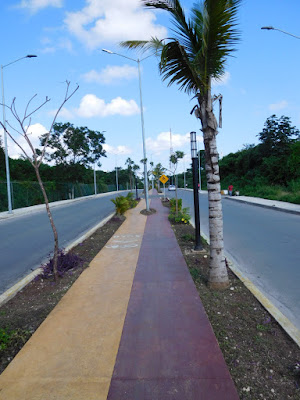 Bike riding, cycling in Playa Del Carmen