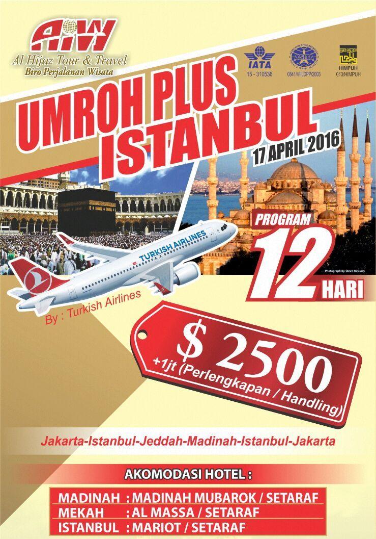 Promo Umroh Plus Turki 2016