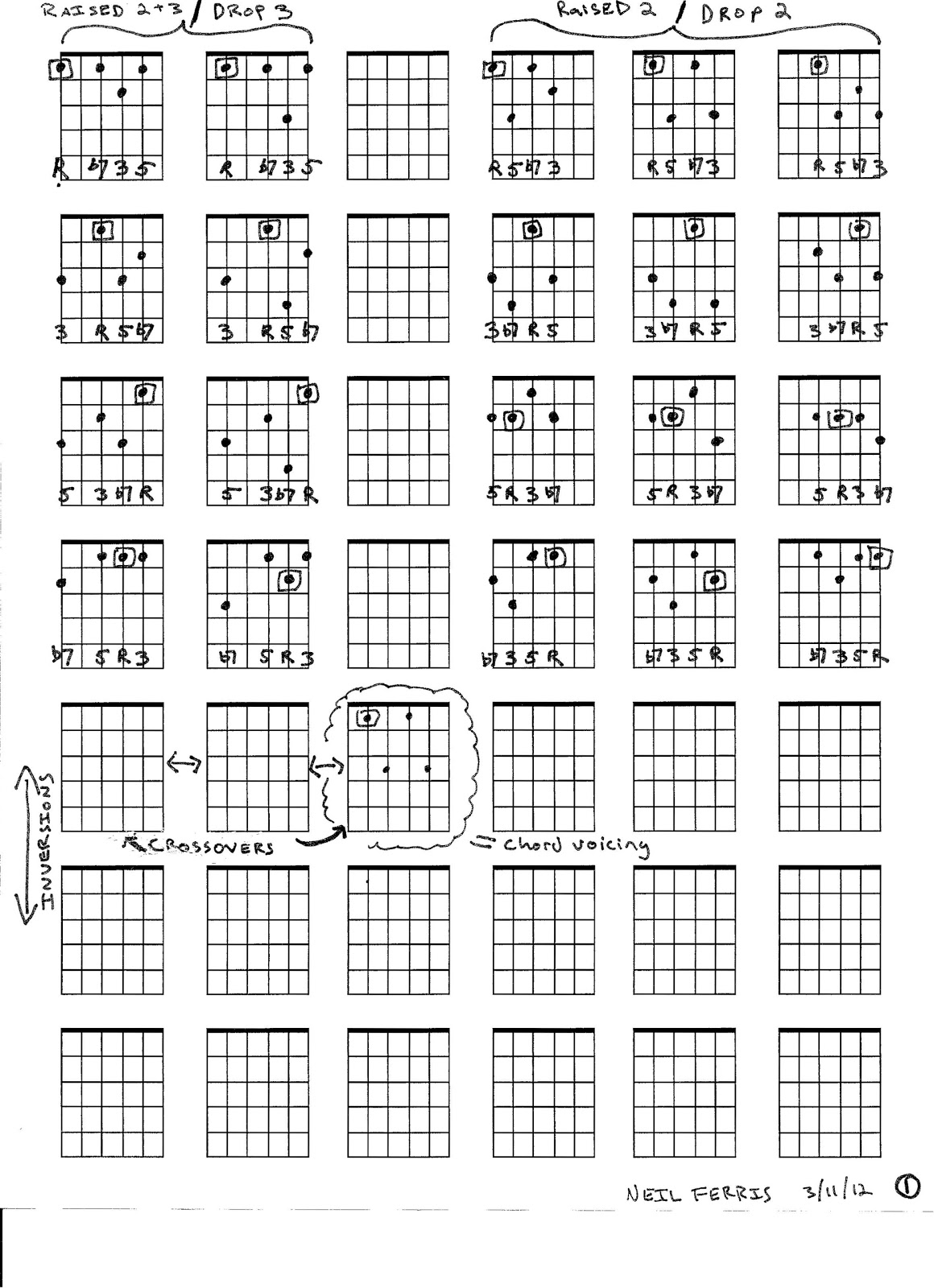 Jazz guitar woodshed chords galore by jack peterson page one hexwebz Choice Image