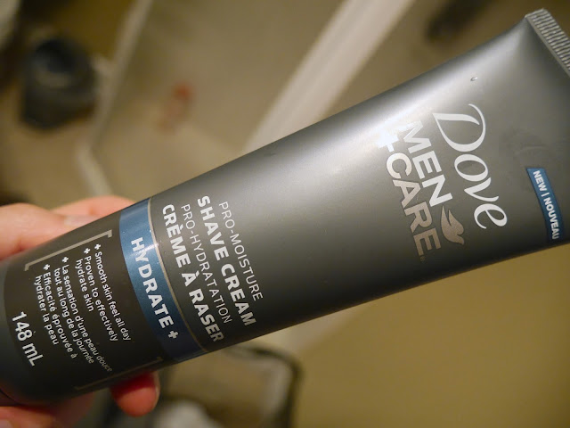 dove men's care review Pro-moisture shave cream