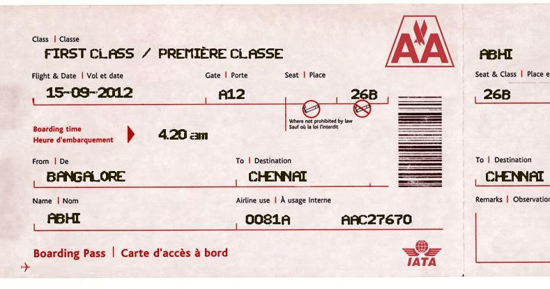 Computer Tips And Tricks  Fake Plane Ticket Template