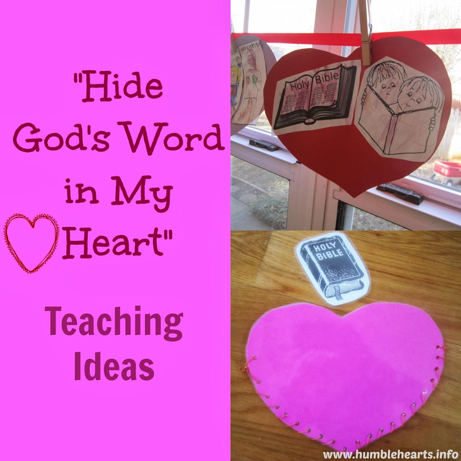 Hide God\'s Word in My Heart\