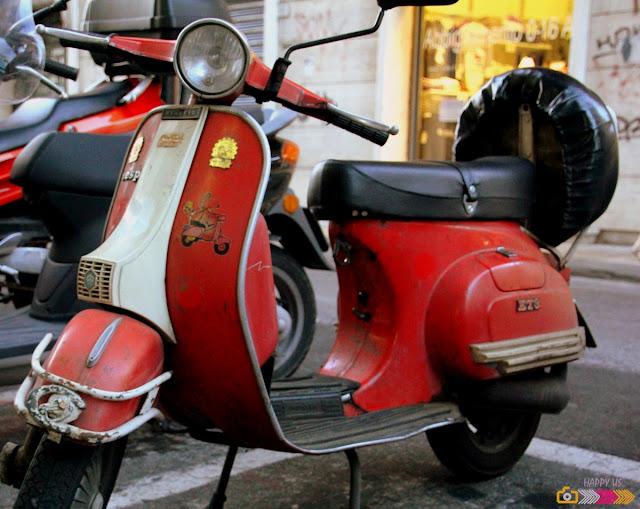 Vespa -Toscane