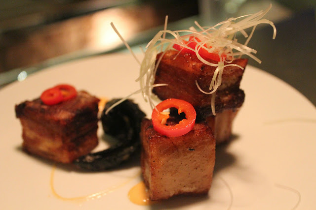 Pork belly at Verjus Bar a Vins, Paris
