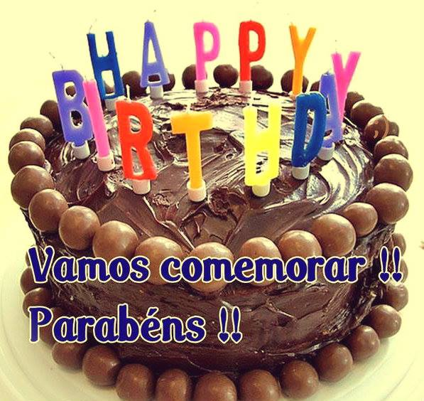 HAPPY BIRTHDAY Parabéns