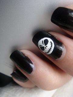 Jack skellington nail designs nailic jackskellingtonnailart2 pinterest prinsesfo Choice Image