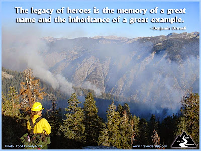 The legacy of heroes is the memory of a great name and the inheritance of a great example. –Benjamin Disraeli