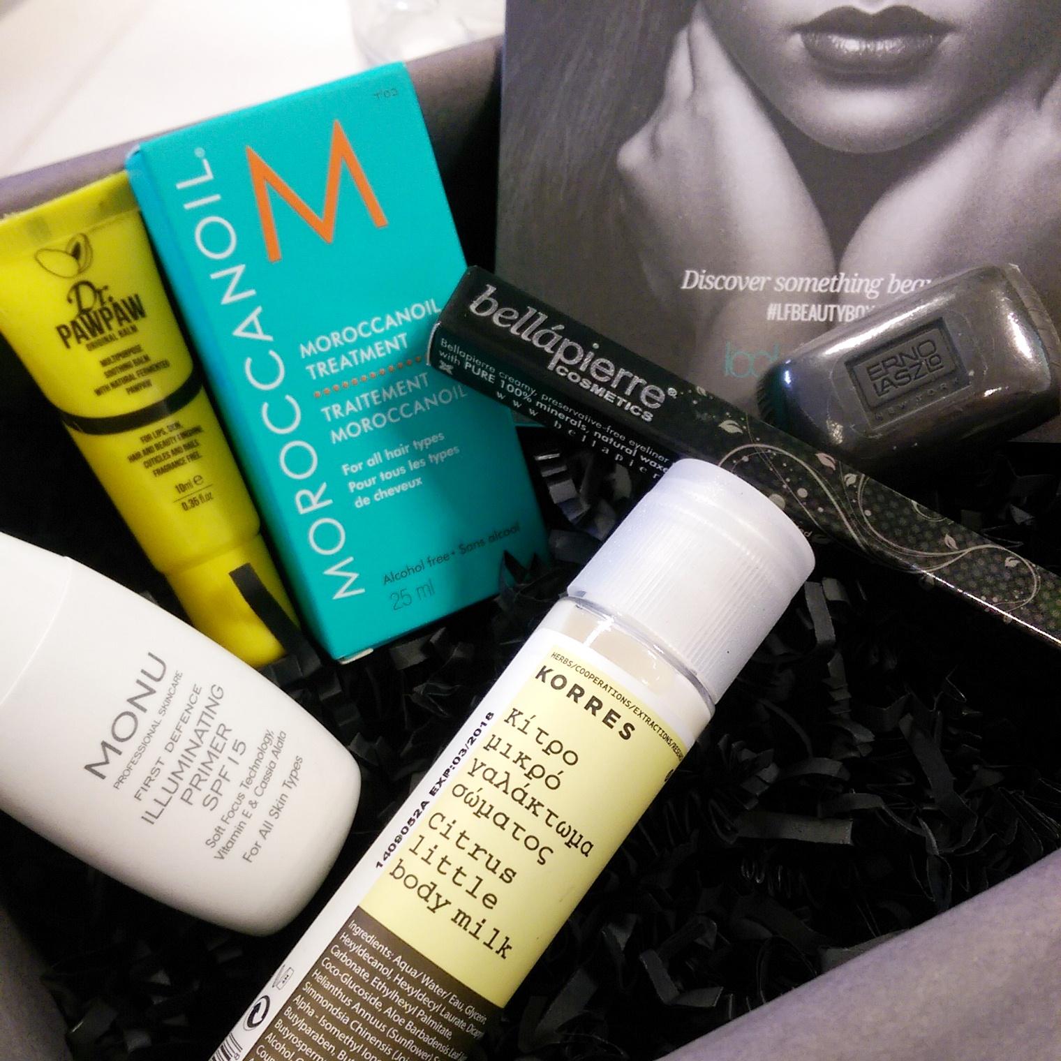The Look Fantastic February Beauty box on UK beauty blog, Hello Terri Lowe.