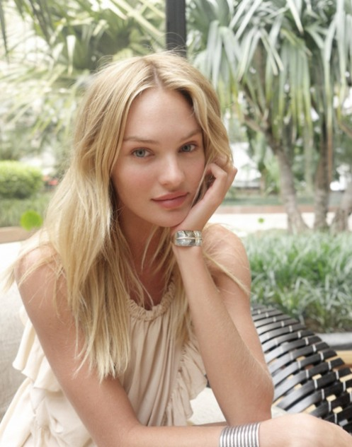 Candice Swanepoel Natural Hair Color Images