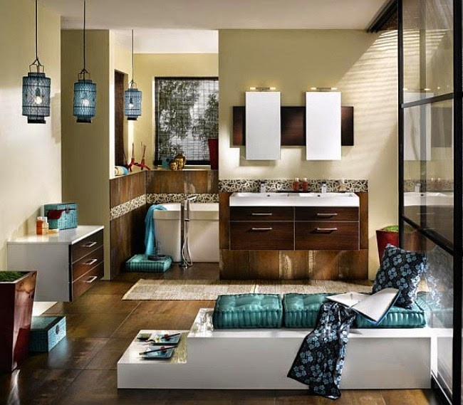 Smart cheap bathroom decorating ideas and solutions