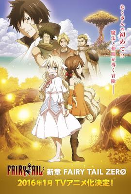 Kana Hanazawa Menjadi Seiyuu Zera Dalam Anime Fairy Tail Zero