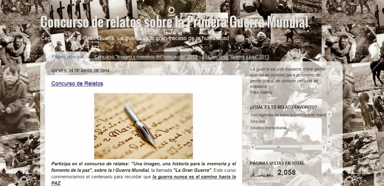 http://concursoderelatoslagranguerra.blogspot.com.es/