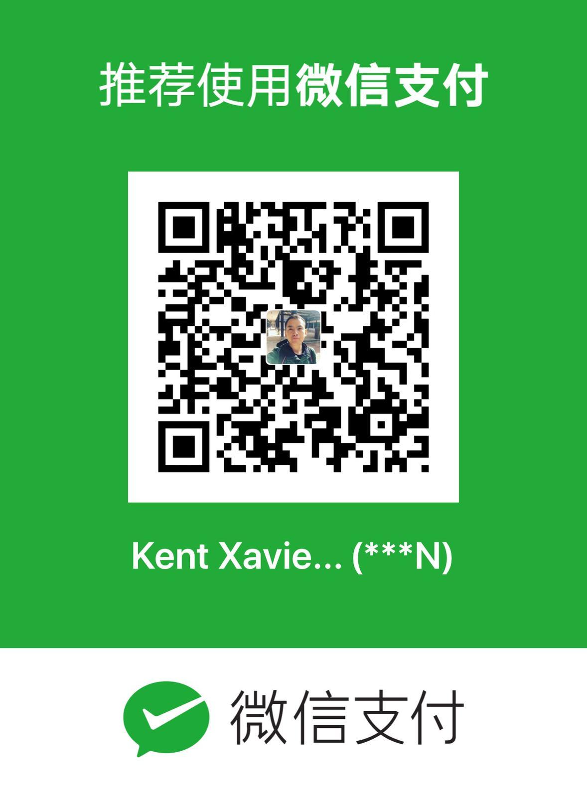 Donation 微信支付