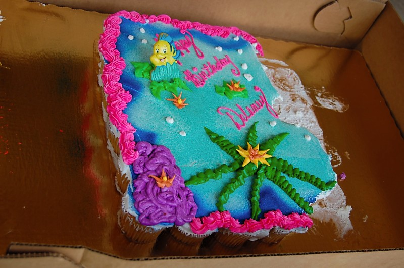 Little Mermaid Birthday Cake Publix Image Inspiration Of And