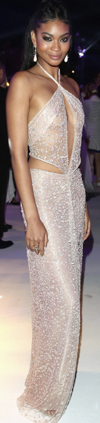 Chanel Iman 2015 Cannes Film Festival
