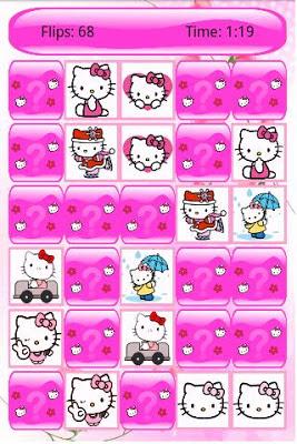 Hello Kitty Memory para android gratis - juegos para niños