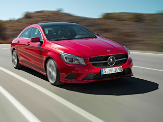 2014 Mercedes-Benz CLA-Class red