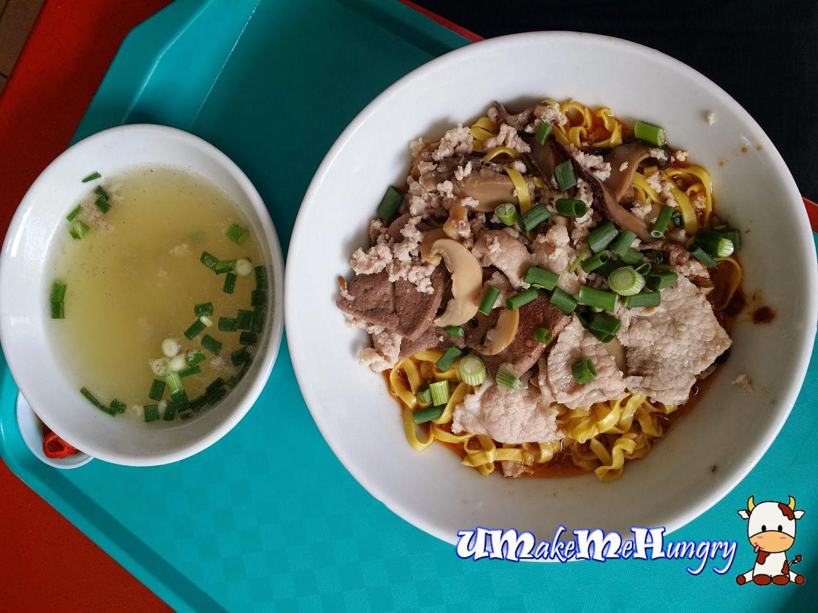 how to cook mee pok dry