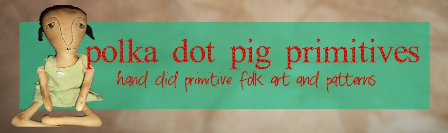 Polka Dot Pig Primitives