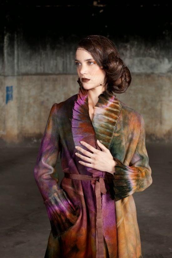 Autossustentável: Coleção inverno 2012 Ana Livni