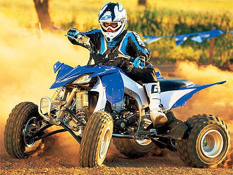 2013 Yamaha Raptor YFZ450R ATV pictures. 480x360 pixels