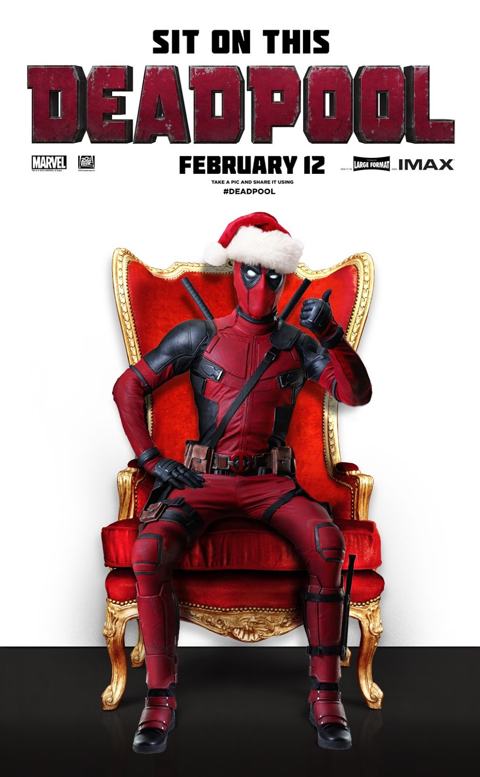 Make A Christmas Card With Deadpool This December | The Devil\'s Eyes