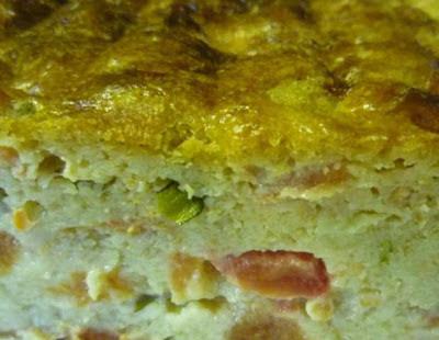 Cake aux Tomates, Basilic et Le Pizy