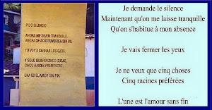 Pido silencio, al francés por Jean Dif