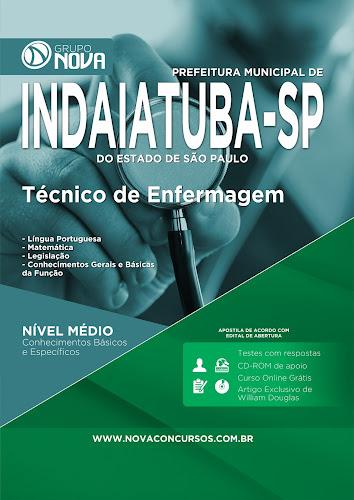 Apostila Concurso Prefeitura de Indaiatuba 2015 - Técnico de Enfermagem